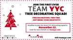 JOIN Team YYC FIRST EVER Tree Decorating Squad!
