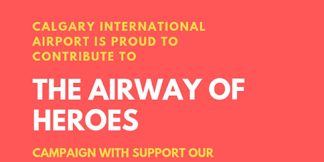 Airway of Heroes fundraiser lands at YYC
