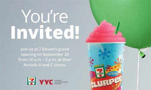 7-Eleven's grand opening and a giveaway!