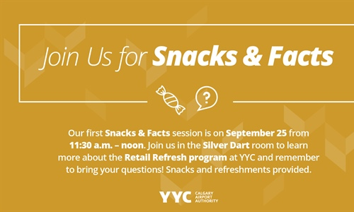 Join us for Snacks & Facts