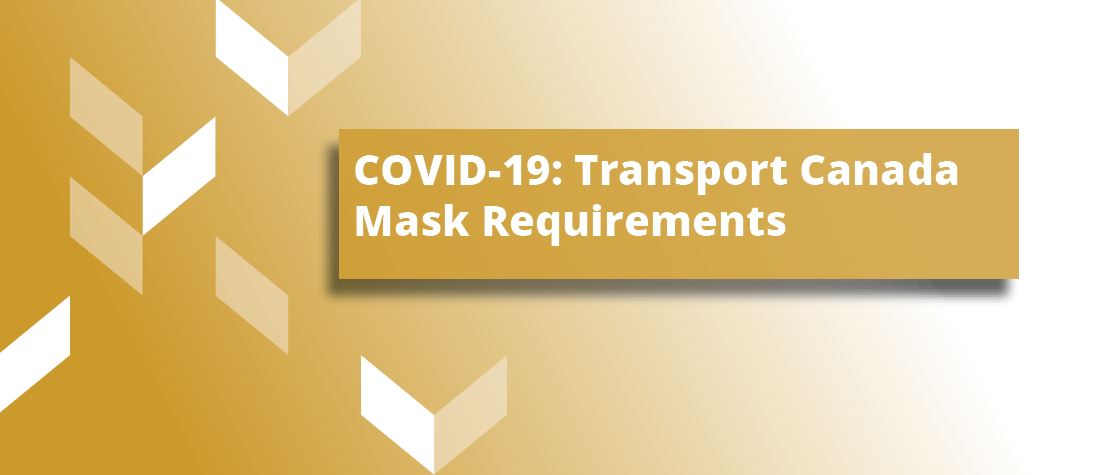 Masks requirements for guests and airport staff