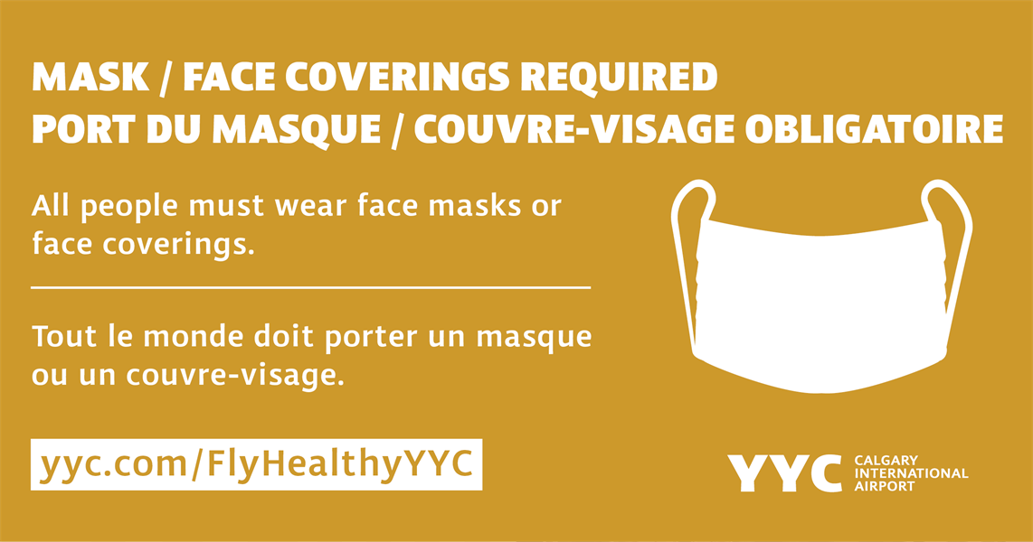 #FlyHealthyYYC: New mask requirement at YYC