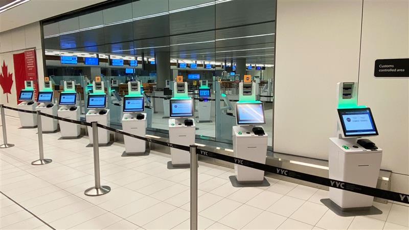 NEXUS upgrade: 10 new kiosks have arrived