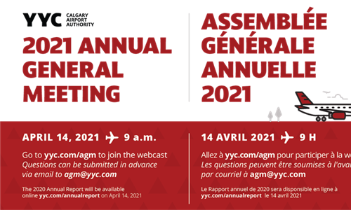 Join us for our 2021 Annual General Meeting